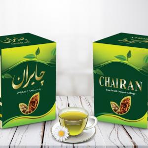 Green Tea plus Cinnamon and Ginger
